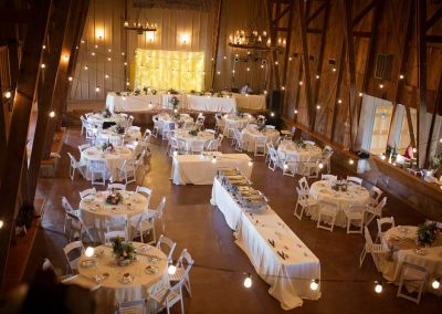 Inside The Big Red Barn (Photo by Amanda Oakes Photography)